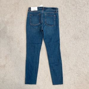 LOFT Modern Skinny Jeans with Side Ankle Slit